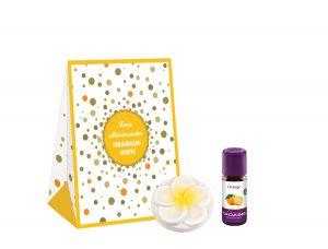 Set floare si ulei aroma portocala 10ml